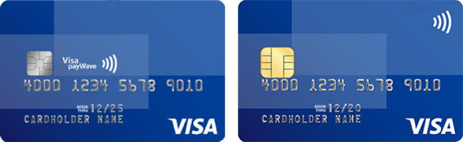 タッチ決済対応カード