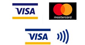 VISA mastercard VISAタッチ決済