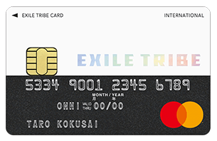 EXILE TRIBE Mastercard