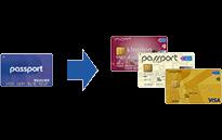 京王 パスポート visa キラリ ナ カード