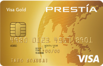 PRESTIA Visa GOLD CARD