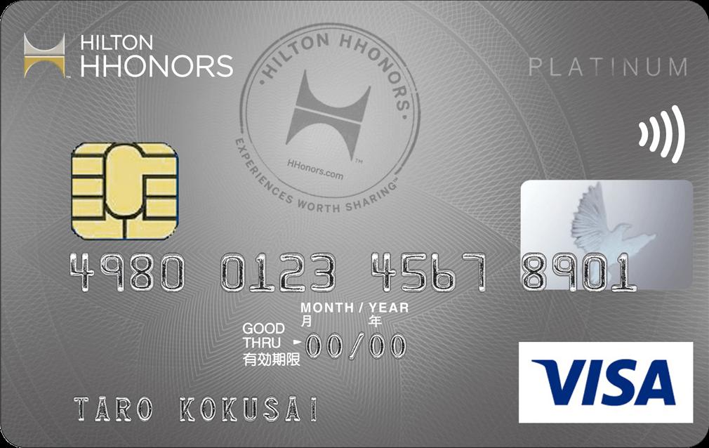 VISAの場合のカードデザイン